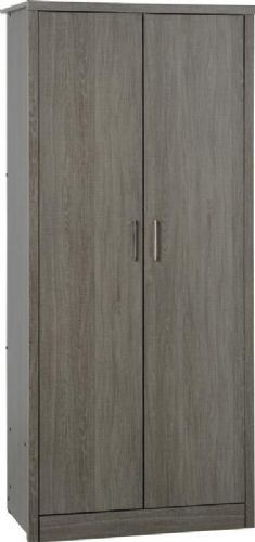Lisbon 2 Door Wardrobe BWG